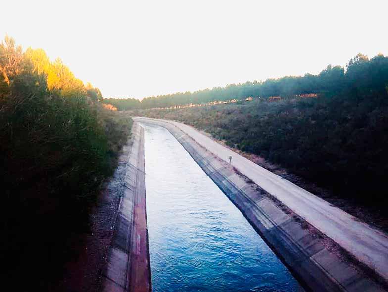 Roldán critica a Page su cinismo en el tema del agua manteniendo un doble discurso